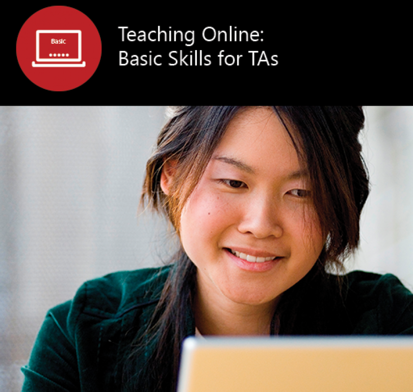Teaching Online – Basic Skills for TAs